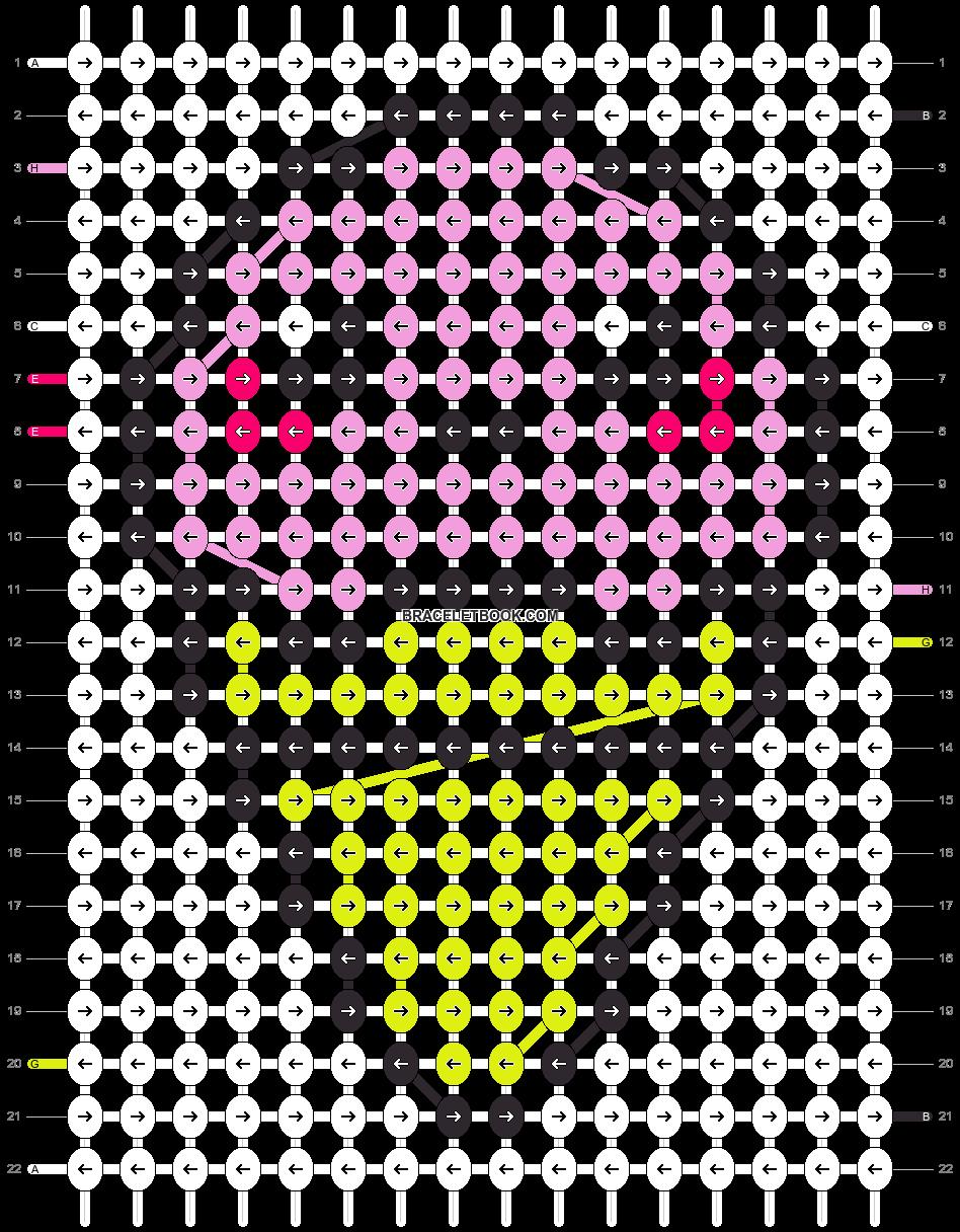 Alpha pattern #21375 pattern