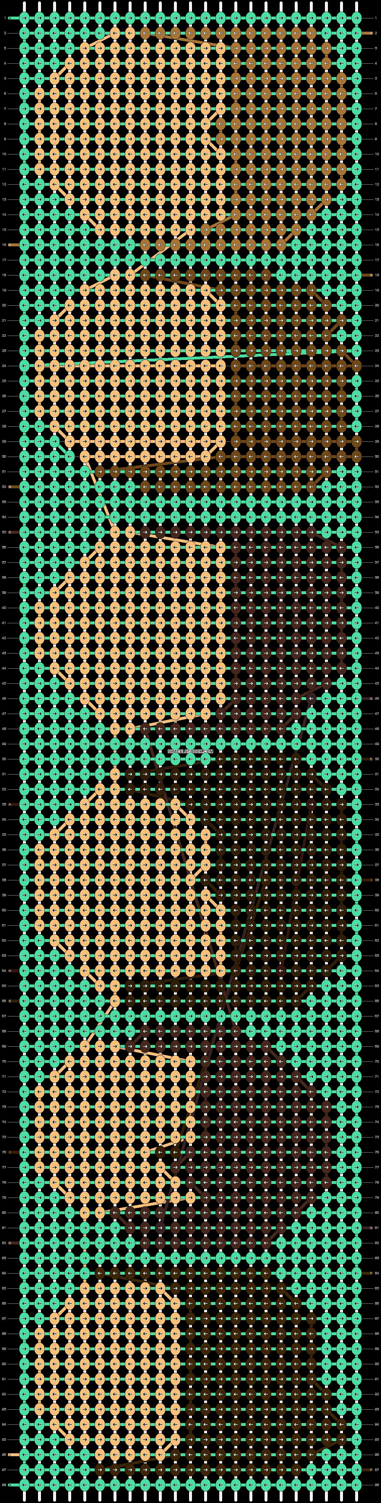 Alpha pattern #21378 pattern