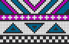 Alpha pattern #21383