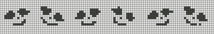 Alpha pattern #21387
