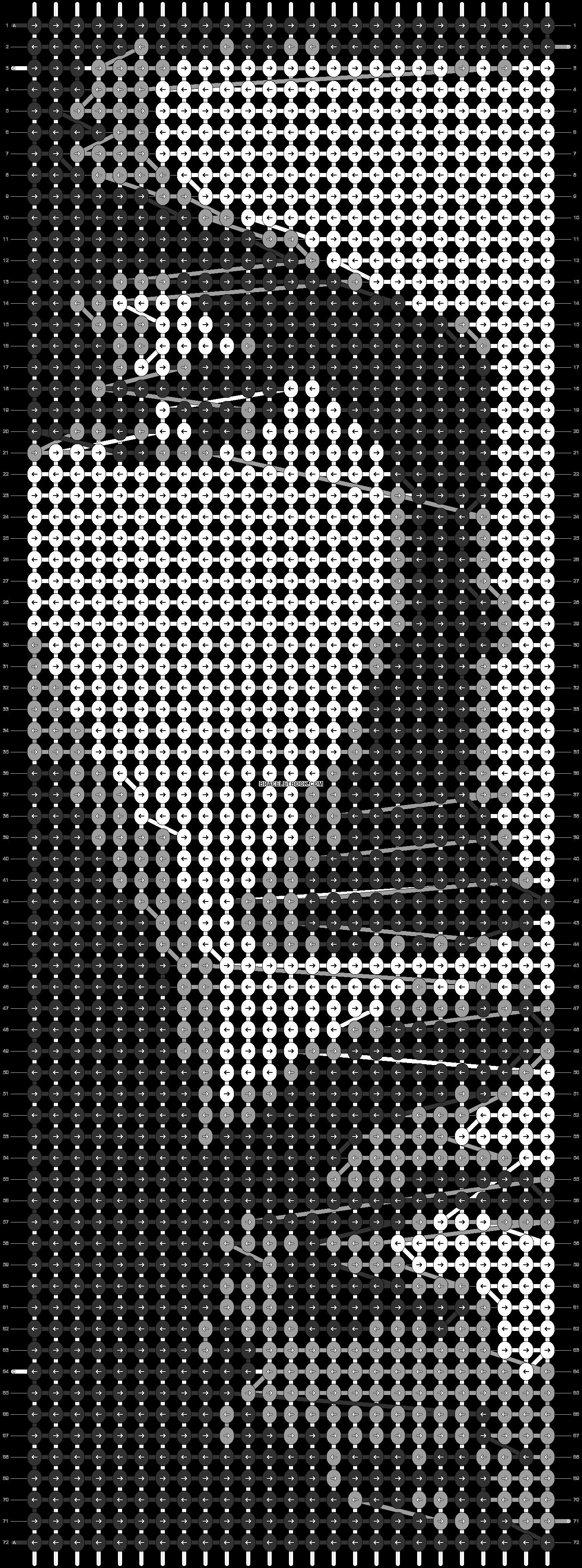 Alpha pattern #21390 pattern