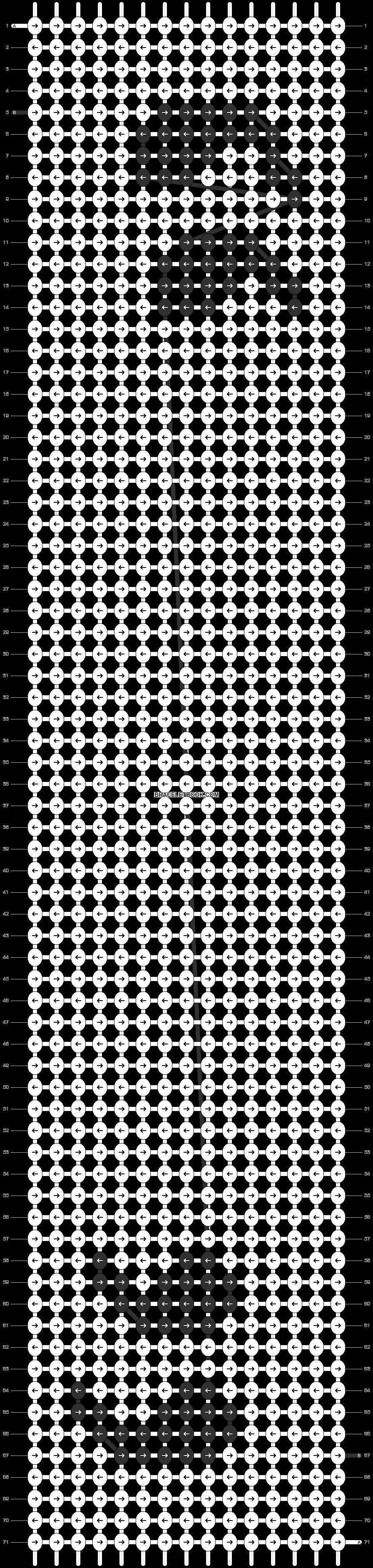 Alpha pattern #21392 pattern