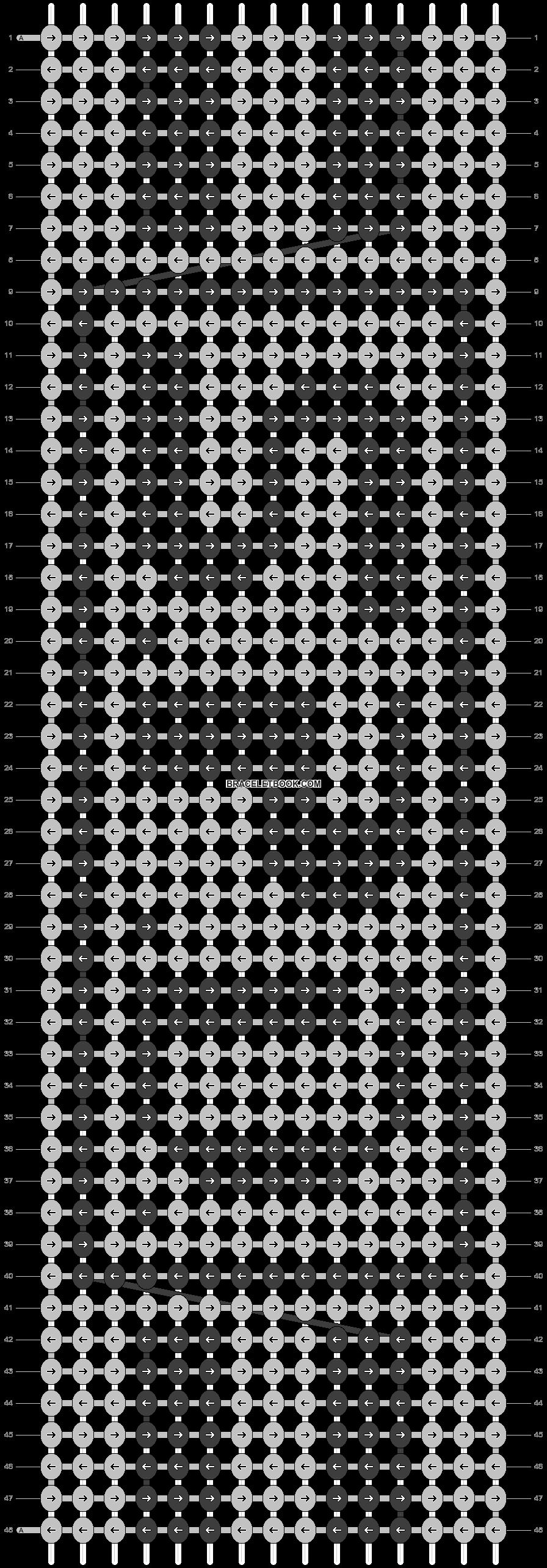 Alpha pattern #21393 pattern