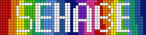 Alpha Friendship Bracelet Pattern #21394