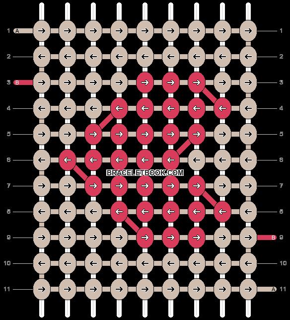 Alpha pattern #21401 pattern