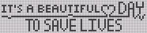 Alpha Friendship Bracelet Pattern #21404