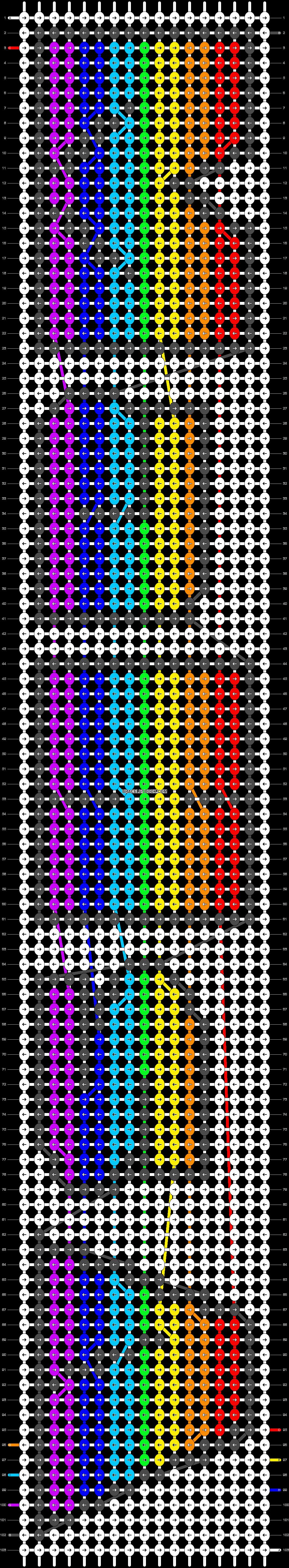 Alpha pattern #21409 pattern
