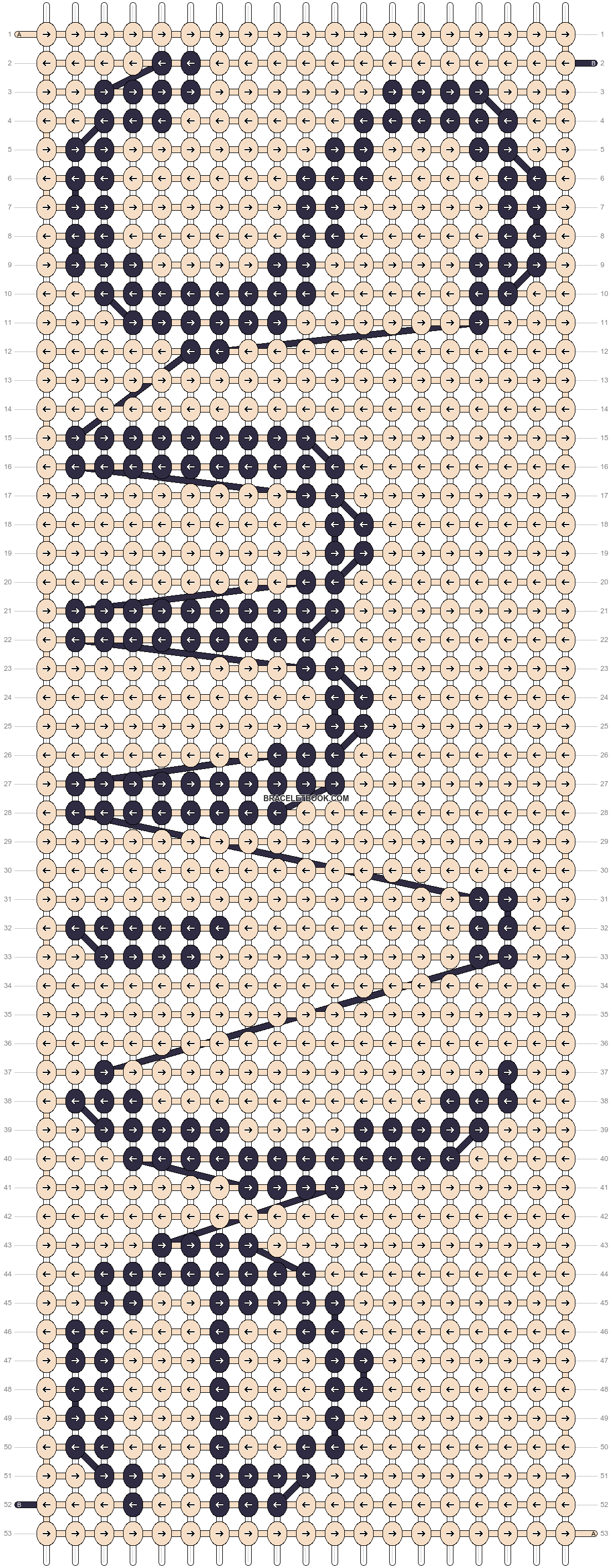 Alpha pattern #21415 pattern