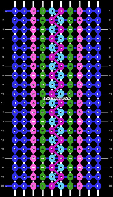 Alpha pattern #21420 pattern