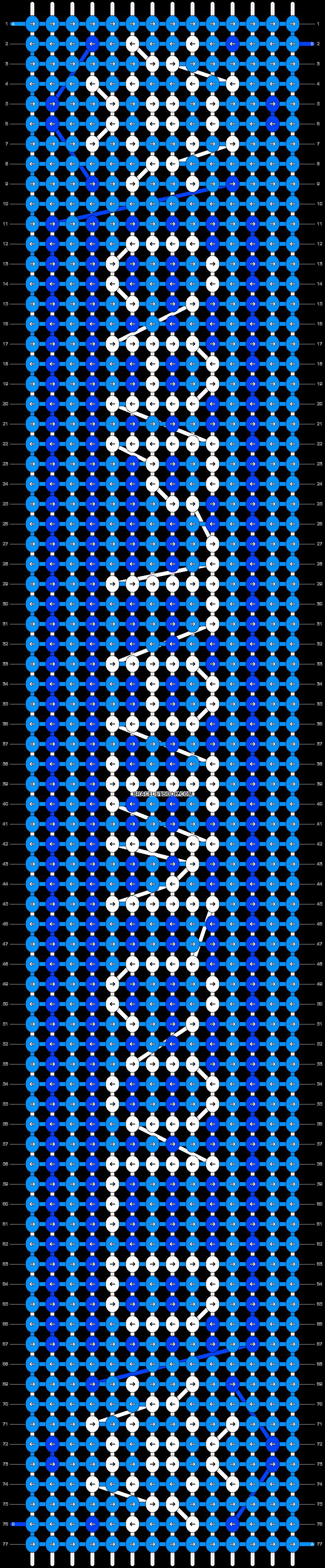 Alpha pattern #21425 pattern