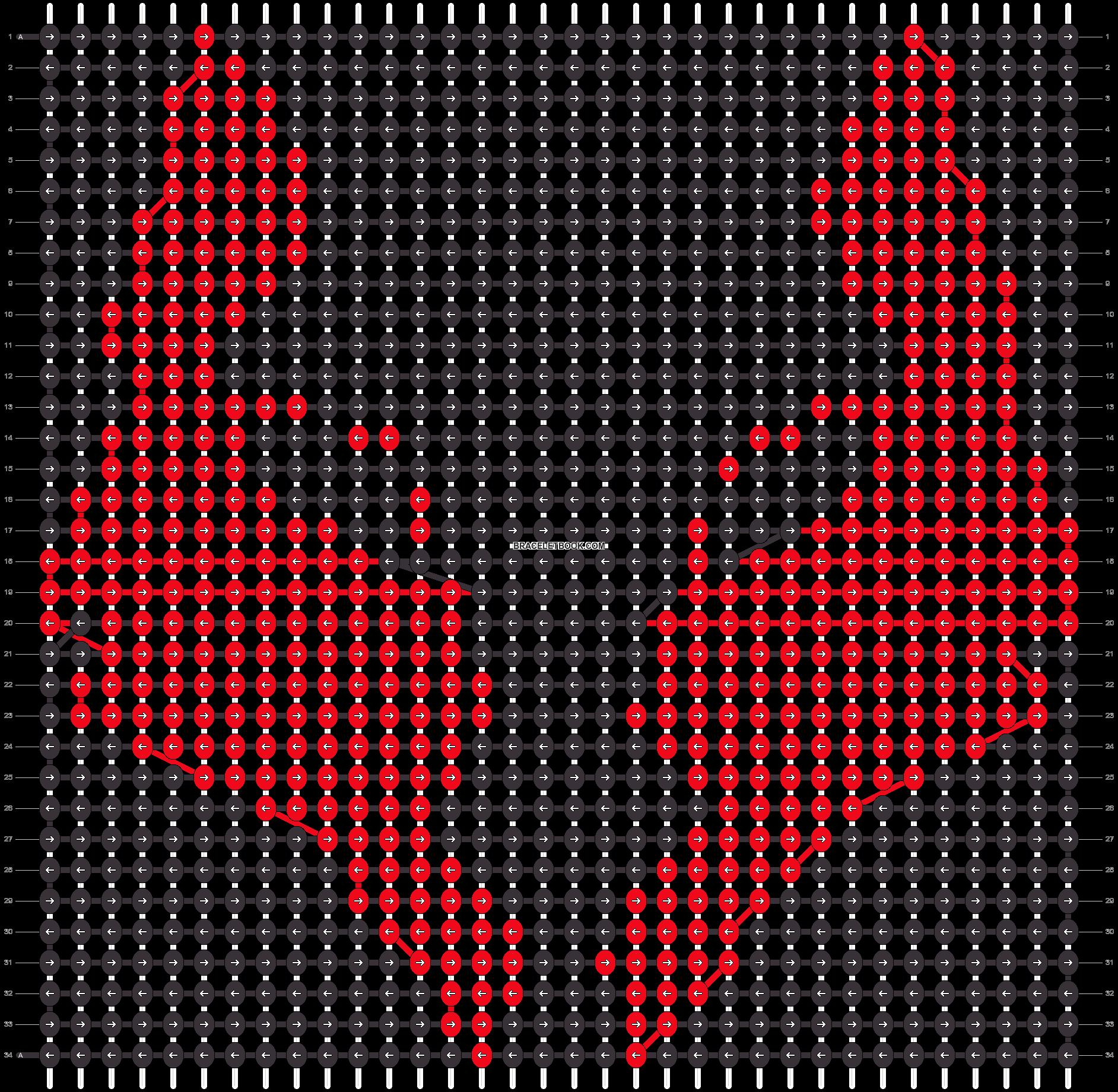 Alpha pattern #21429 pattern