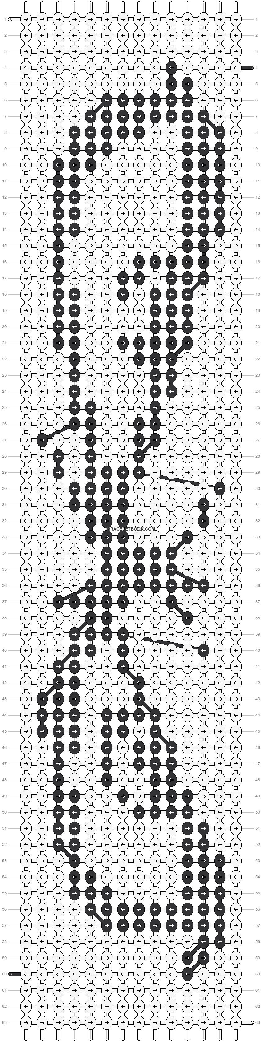 Alpha pattern #21431 pattern