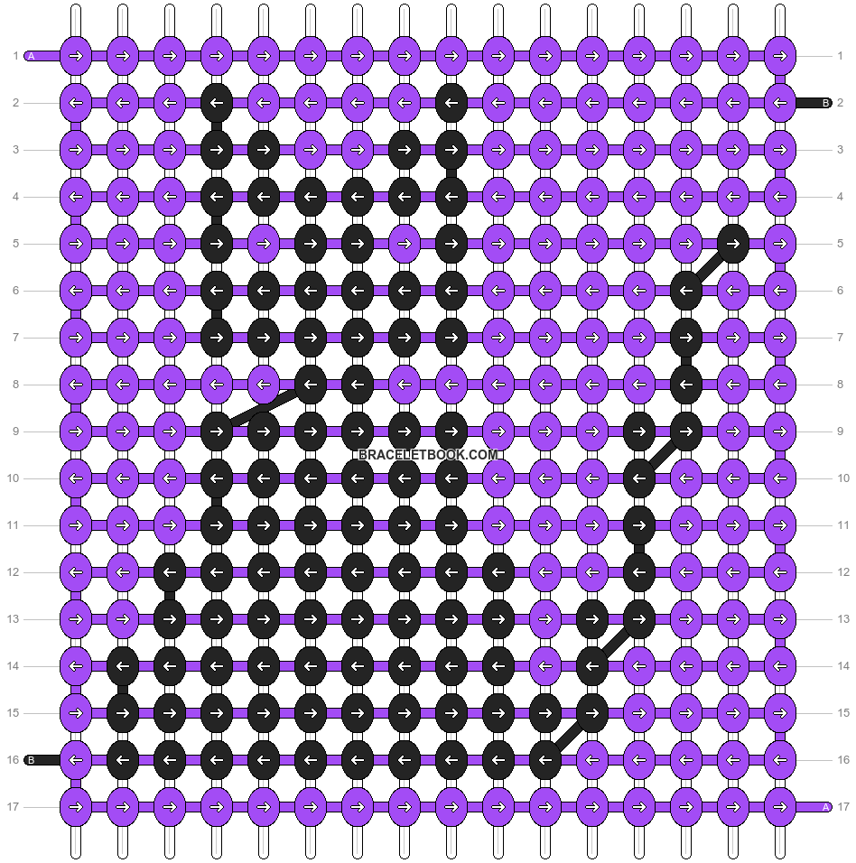Alpha pattern #21435 pattern