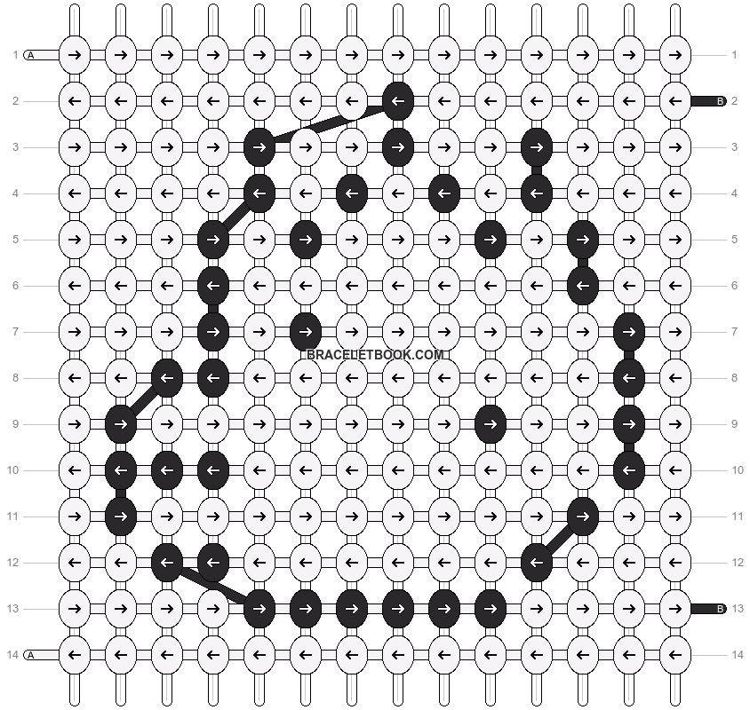 Alpha pattern #21443 pattern