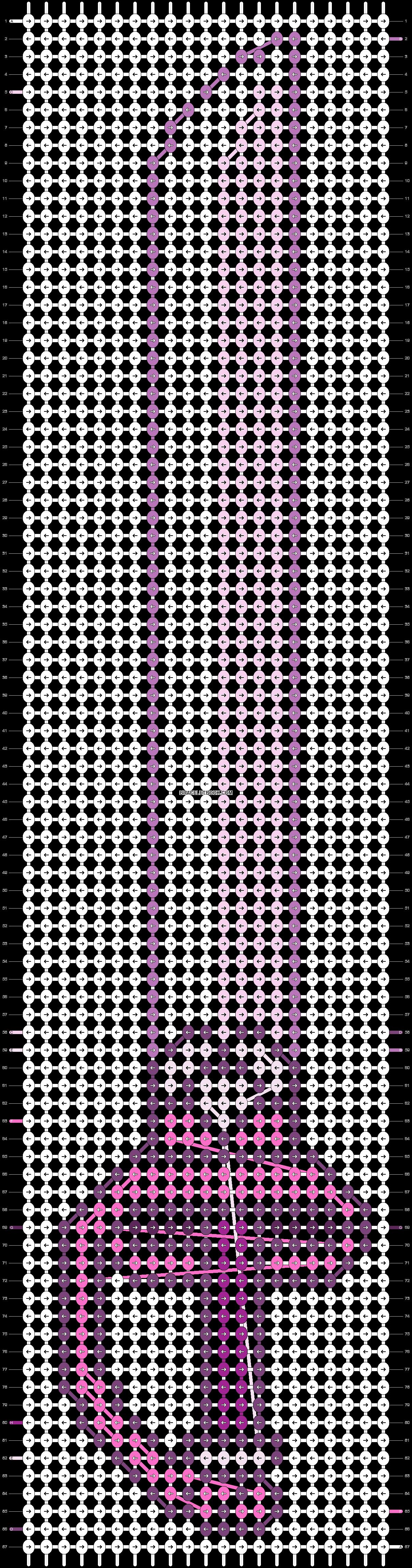 Alpha pattern #21446 pattern