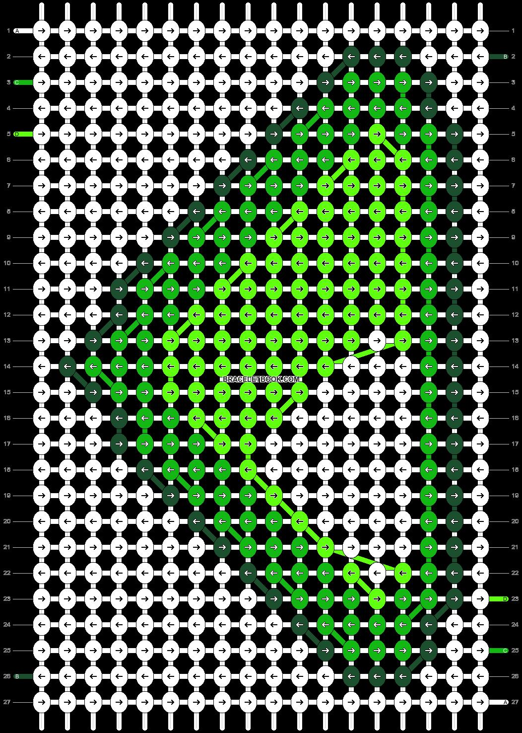 Alpha pattern #21450 pattern
