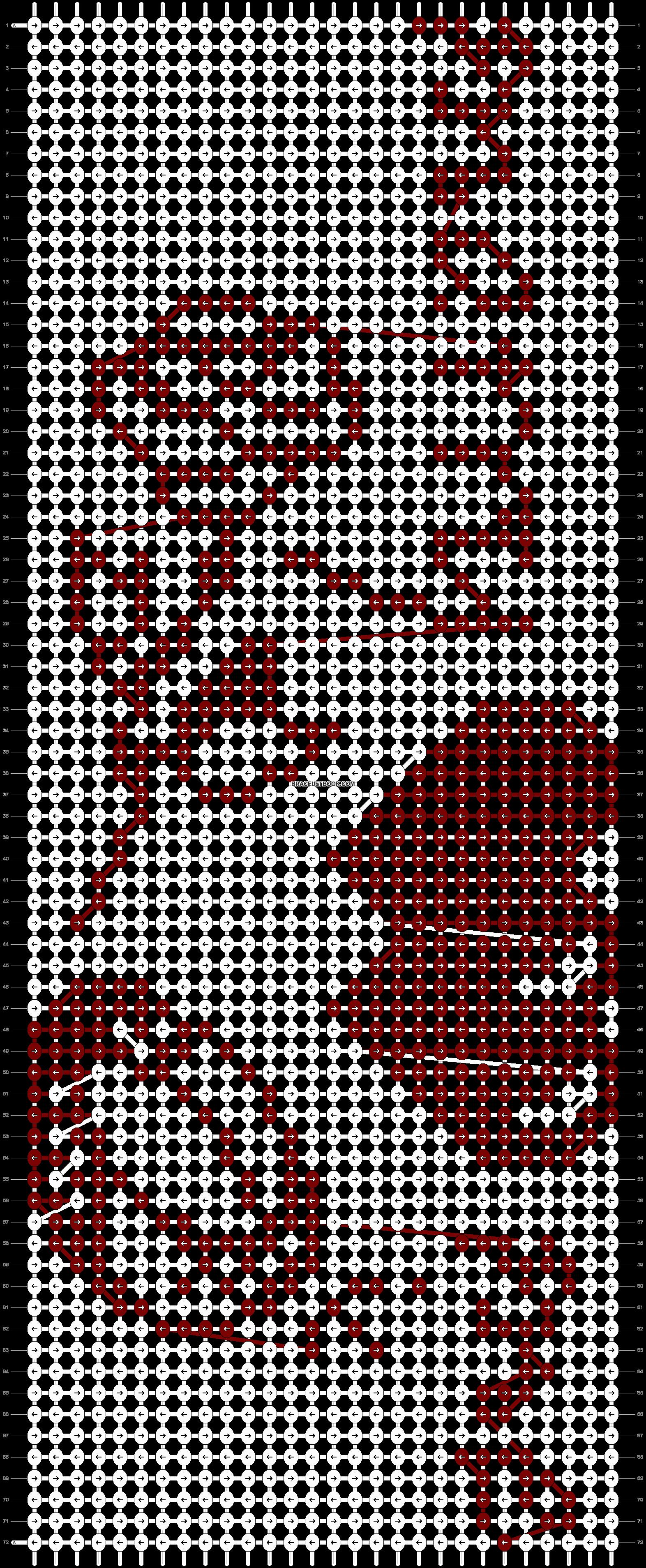Alpha pattern #21457 pattern