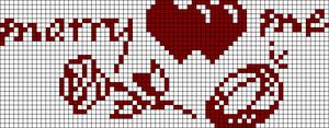 Alpha Friendship Bracelet Pattern #21457