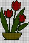 Alpha Friendship Bracelet Pattern #21460