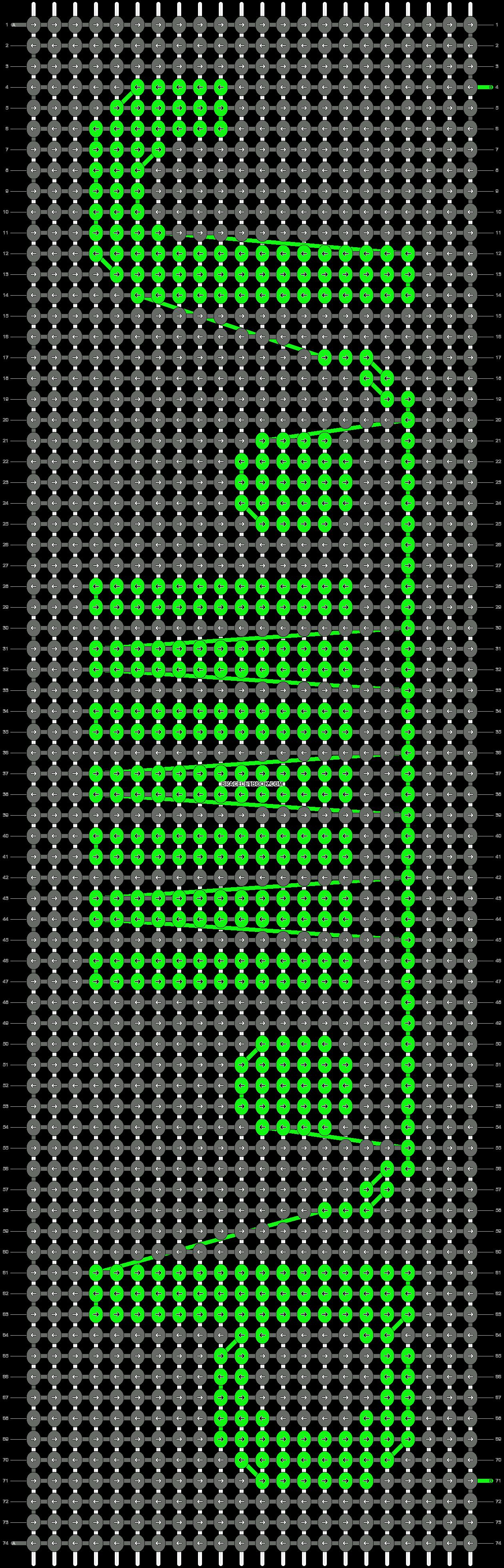 Alpha pattern #21464 pattern