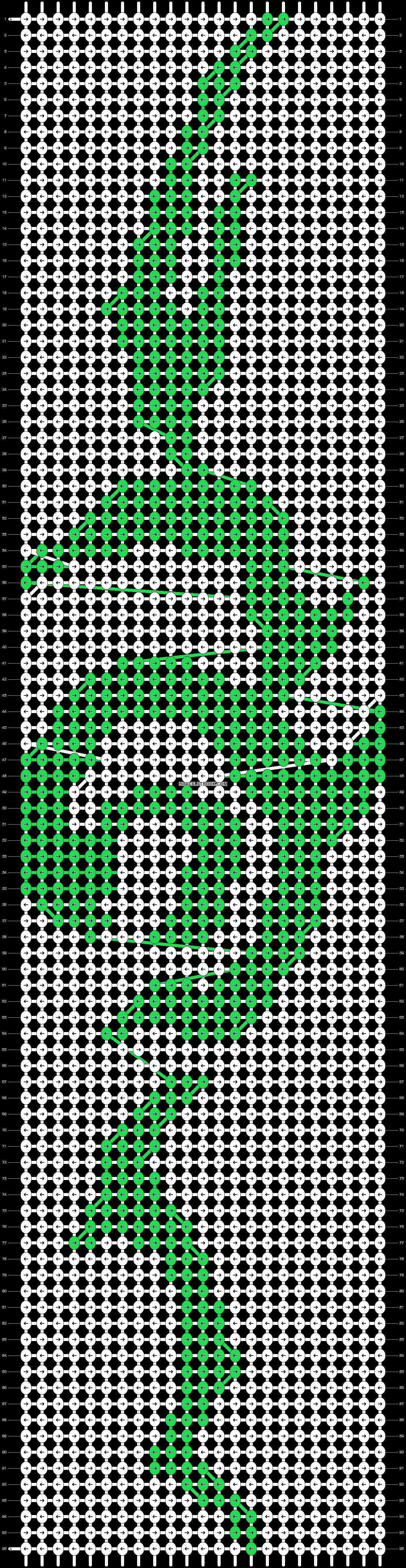 Alpha pattern #21465 pattern
