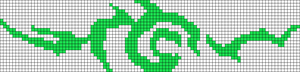Alpha Friendship Bracelet Pattern #21465