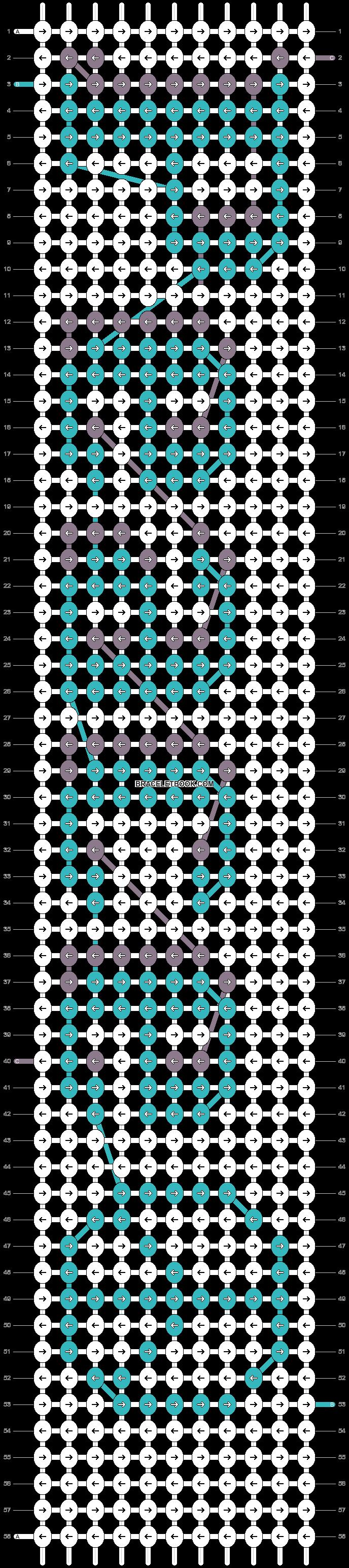 Alpha pattern #21467 pattern