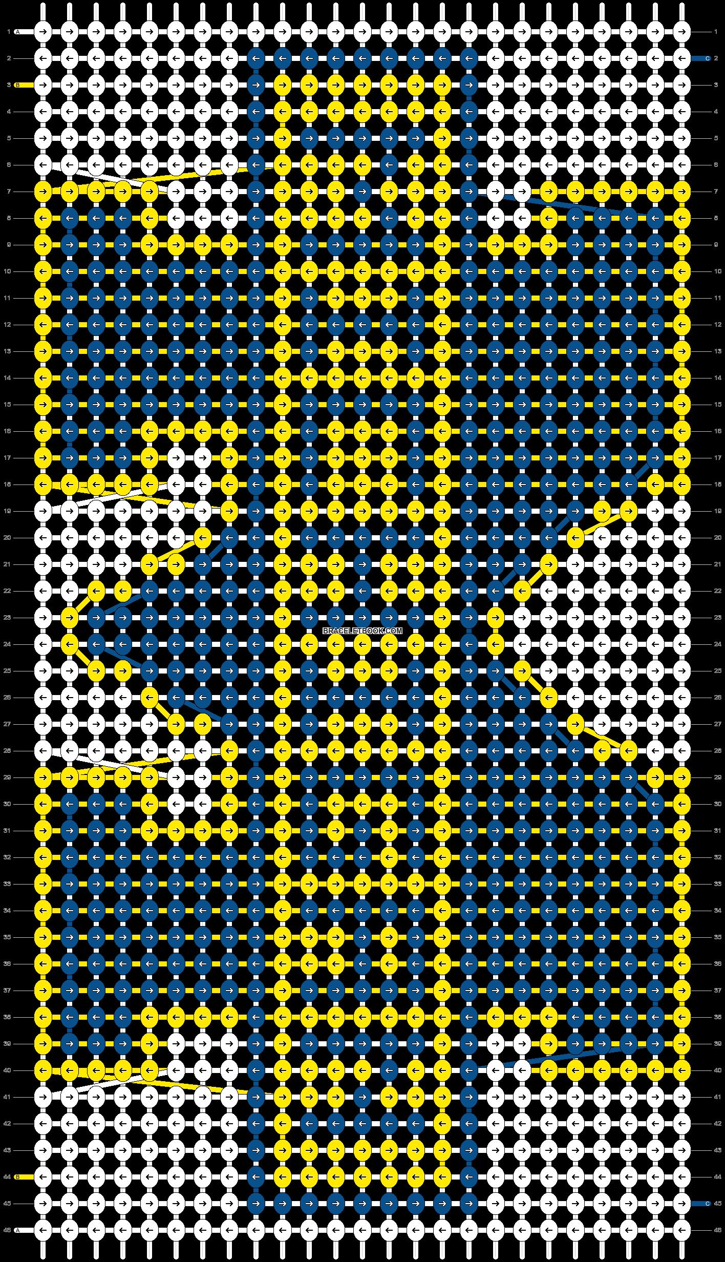 Alpha pattern #21468 pattern