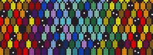 Alpha Friendship Bracelet Pattern #21480