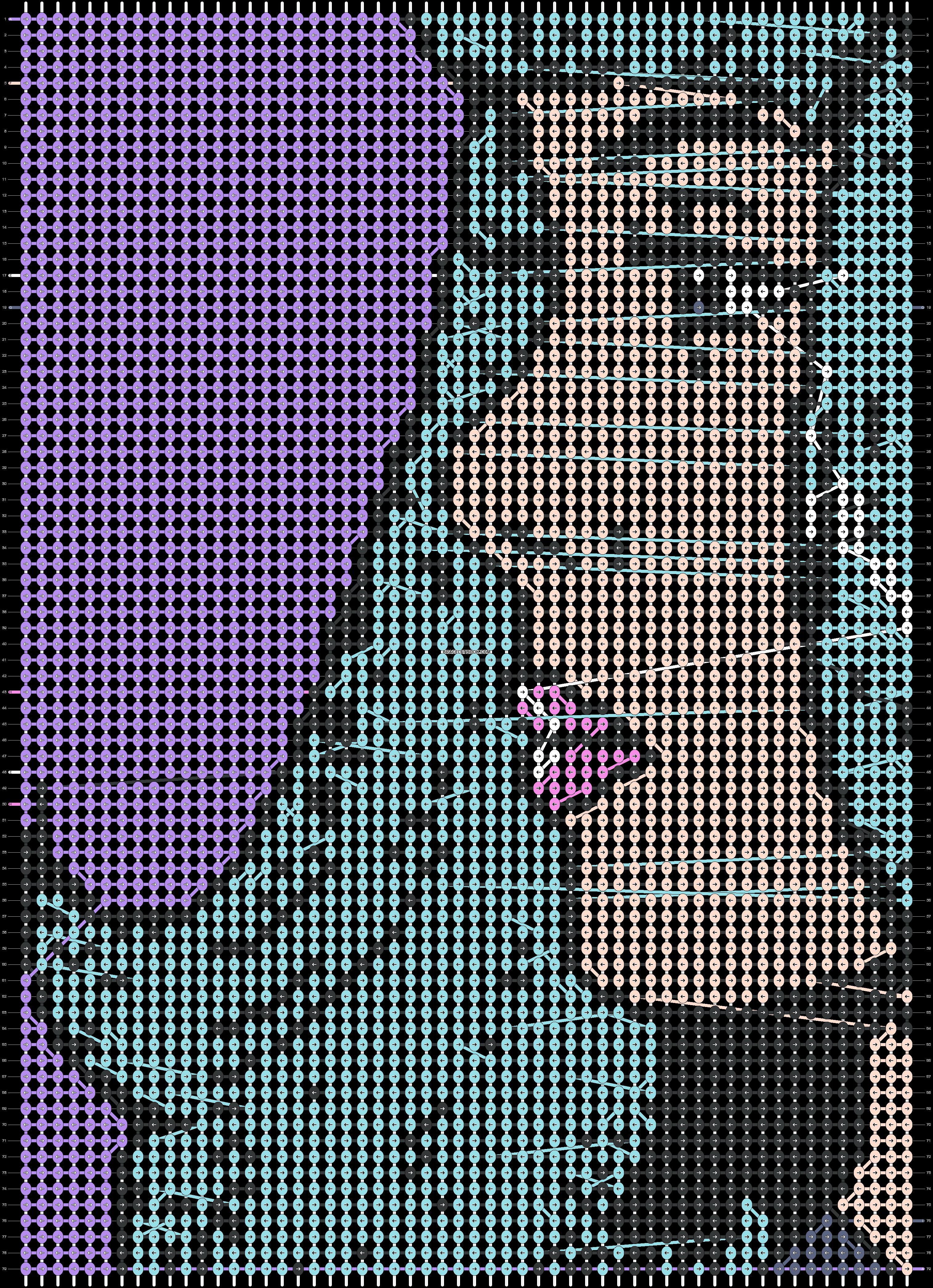 Alpha pattern #21483 pattern