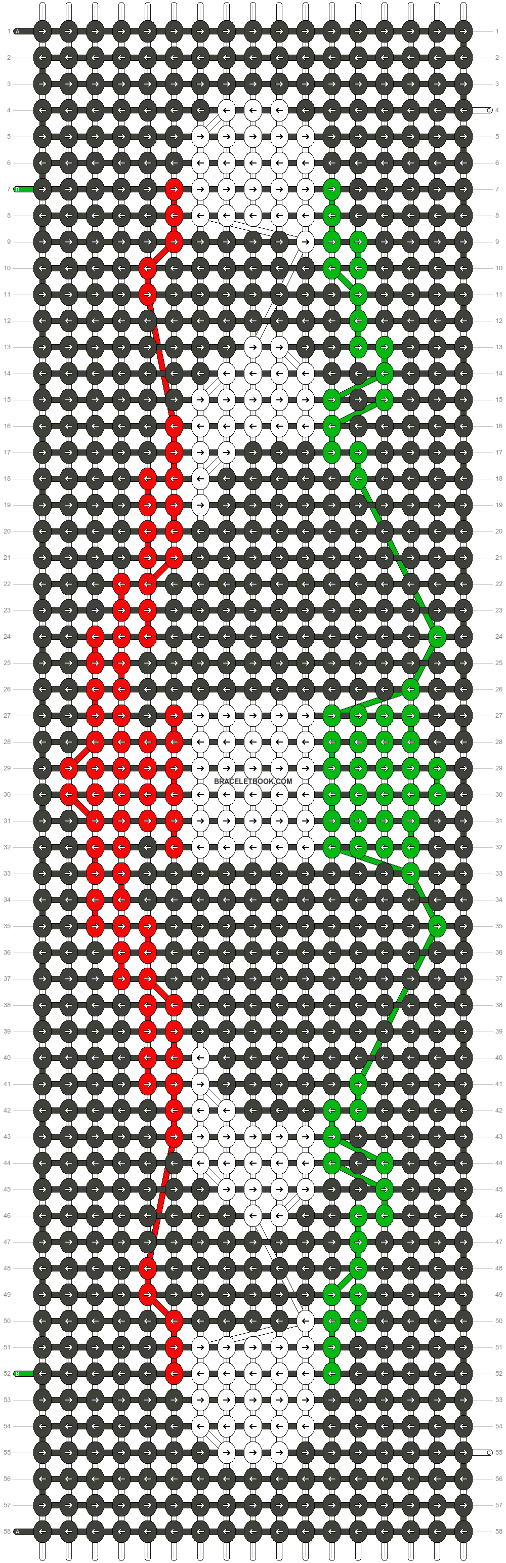Alpha pattern #21488 pattern