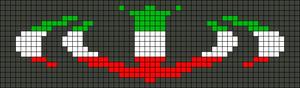 Alpha pattern #21488