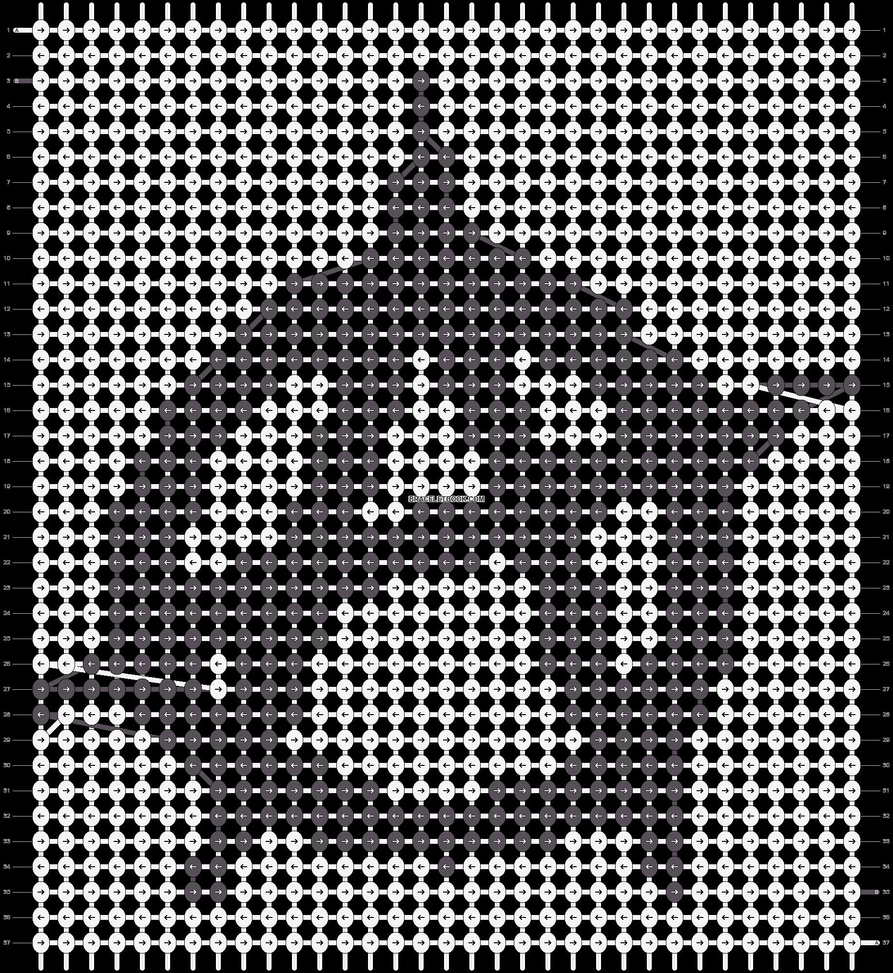 Alpha pattern #21490 pattern