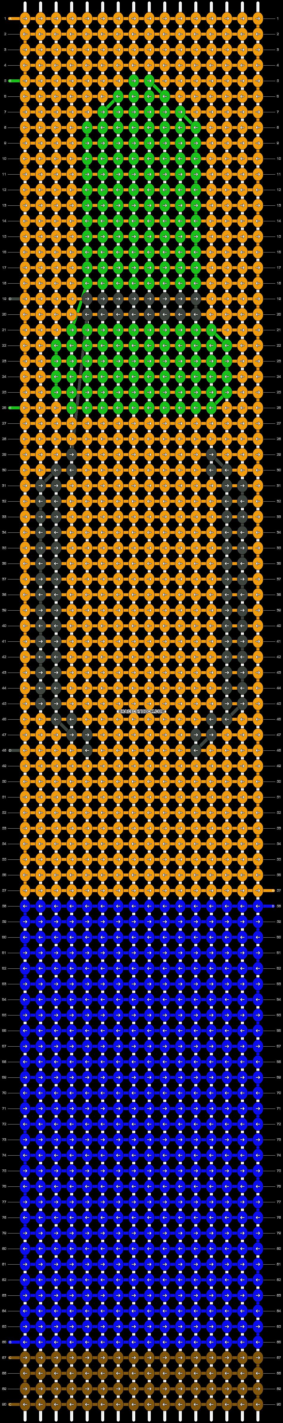 Alpha pattern #21496 pattern