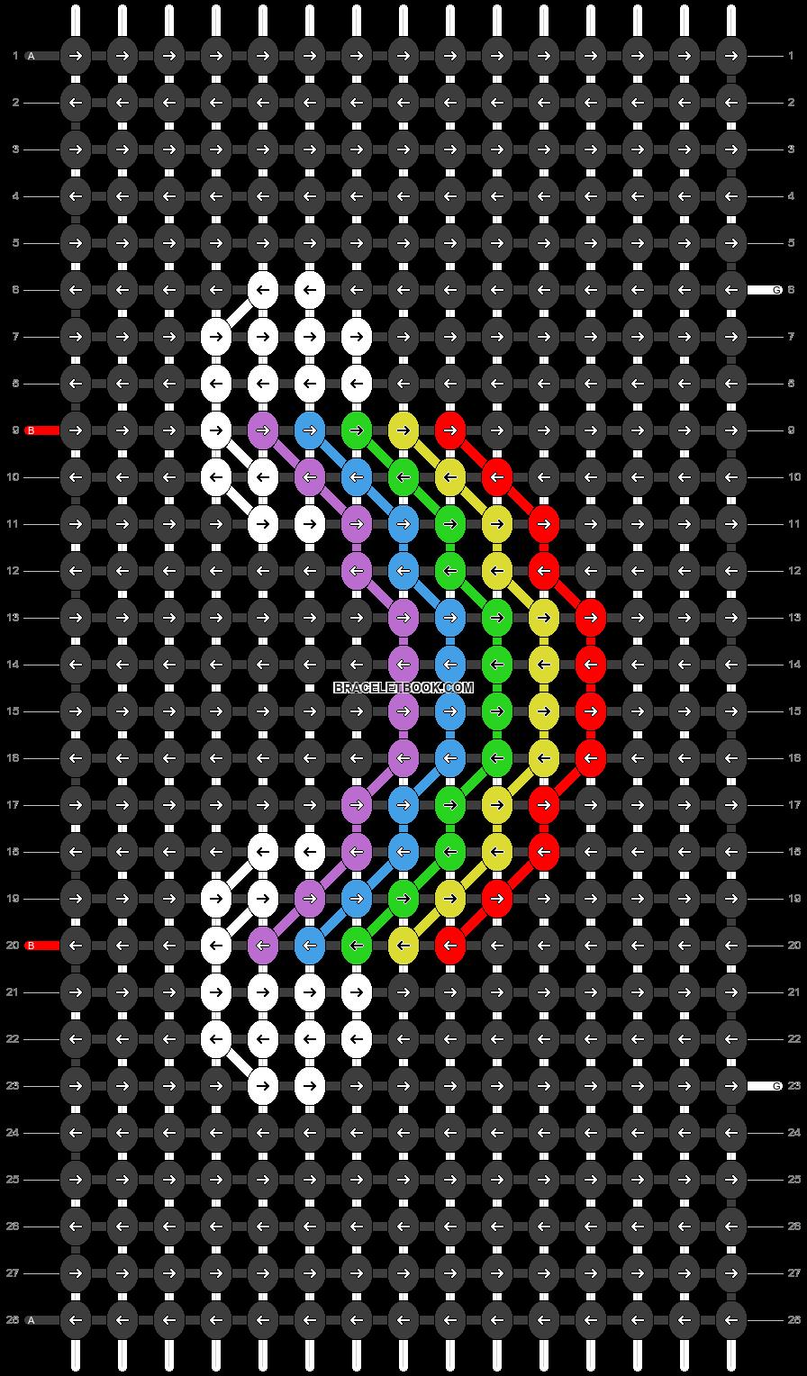Alpha pattern #21500 pattern