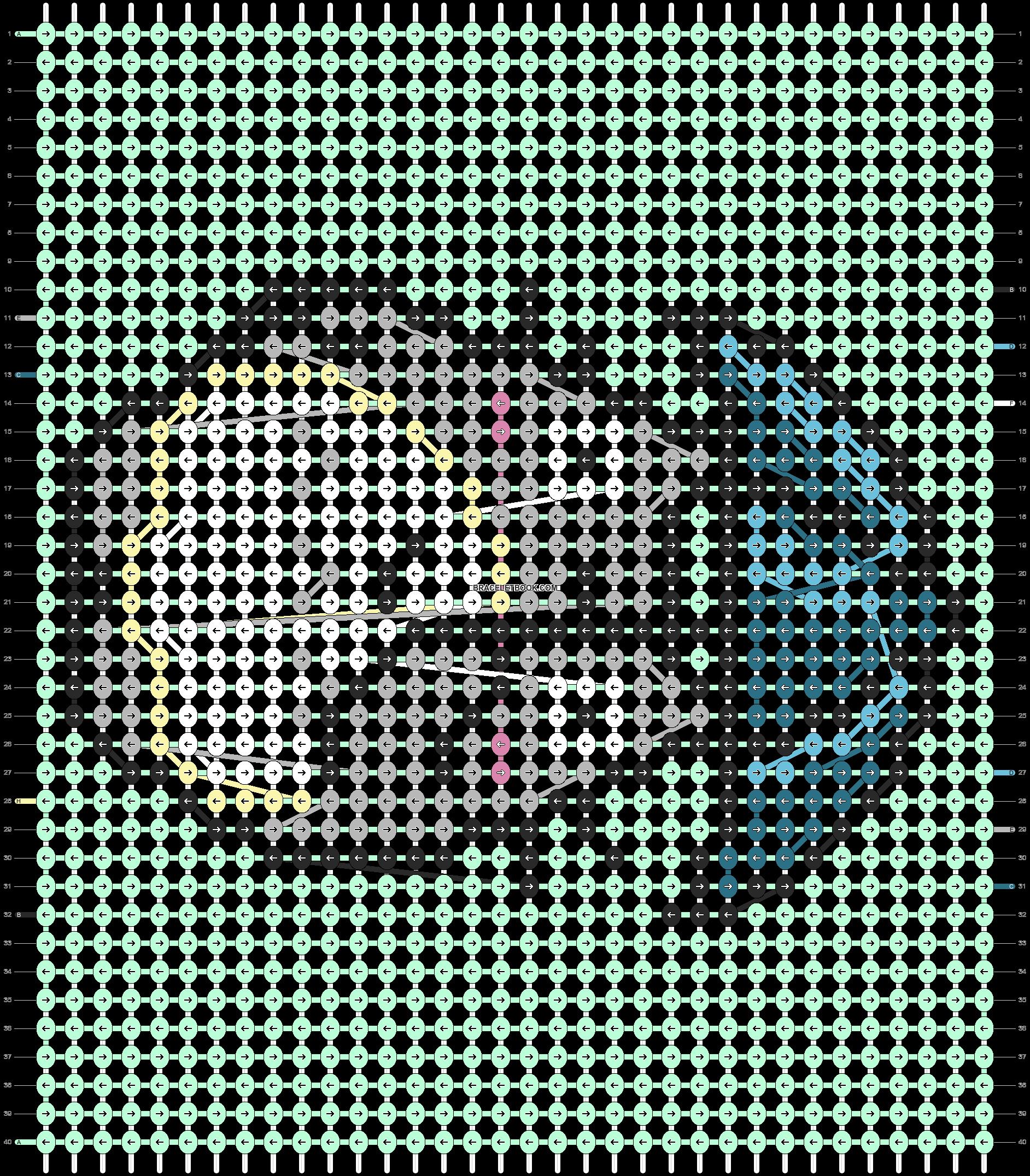 Alpha pattern #21501 pattern