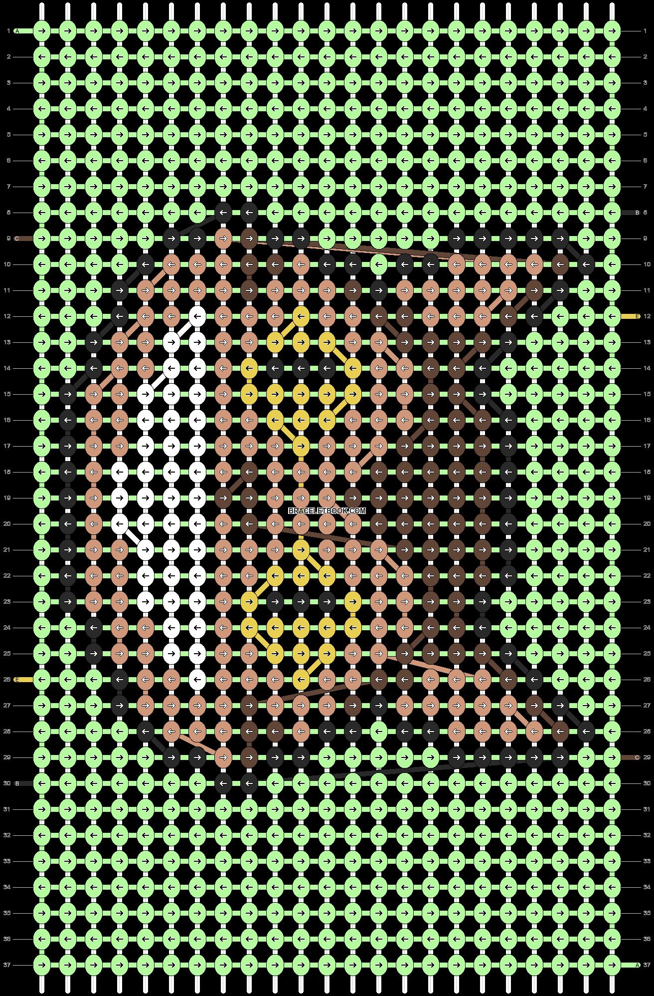 Alpha pattern #21502 pattern