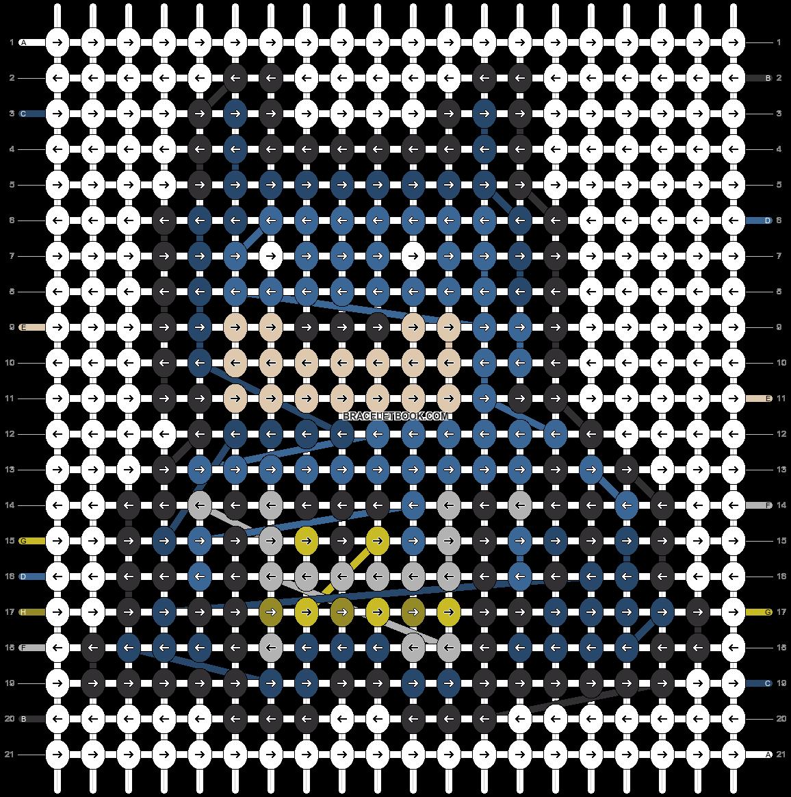 Alpha pattern #21503 pattern