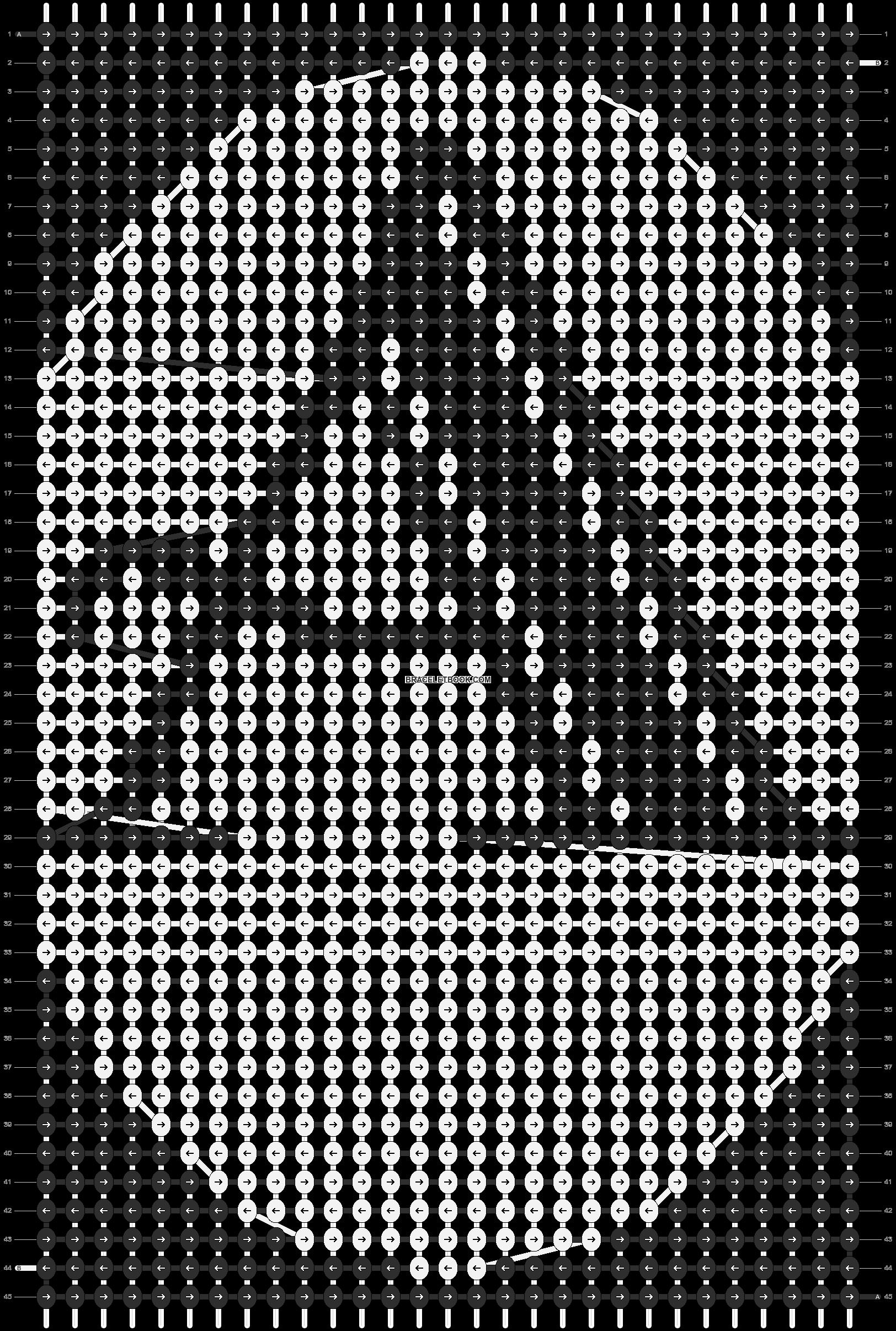 Alpha pattern #21509 pattern