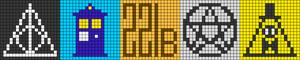Alpha Friendship Bracelet Pattern #21512