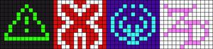 Alpha Friendship Bracelet Pattern #21513