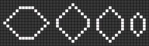 Alpha Friendship Bracelet Pattern #21516