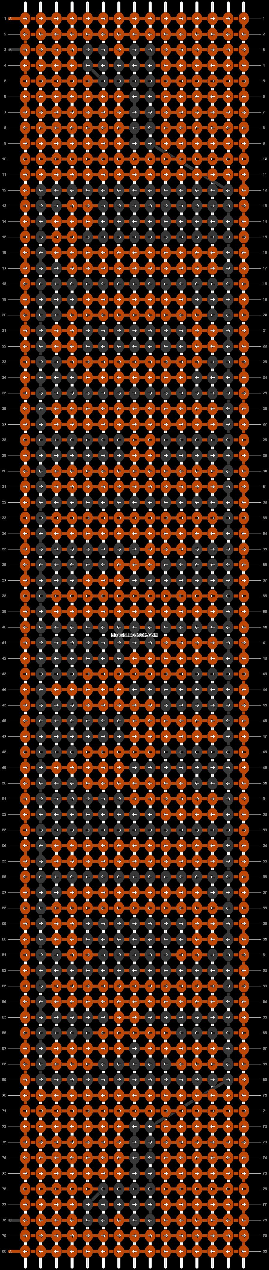 Alpha pattern #21517 pattern