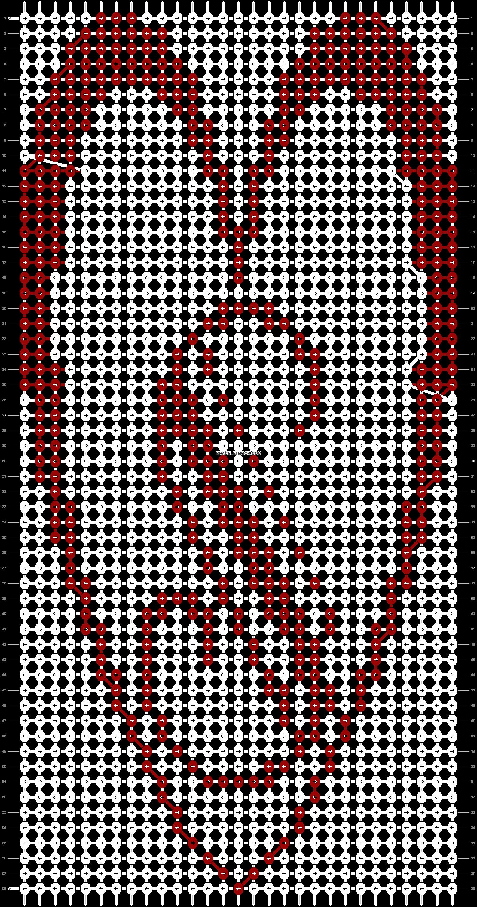 Alpha pattern #21520 pattern