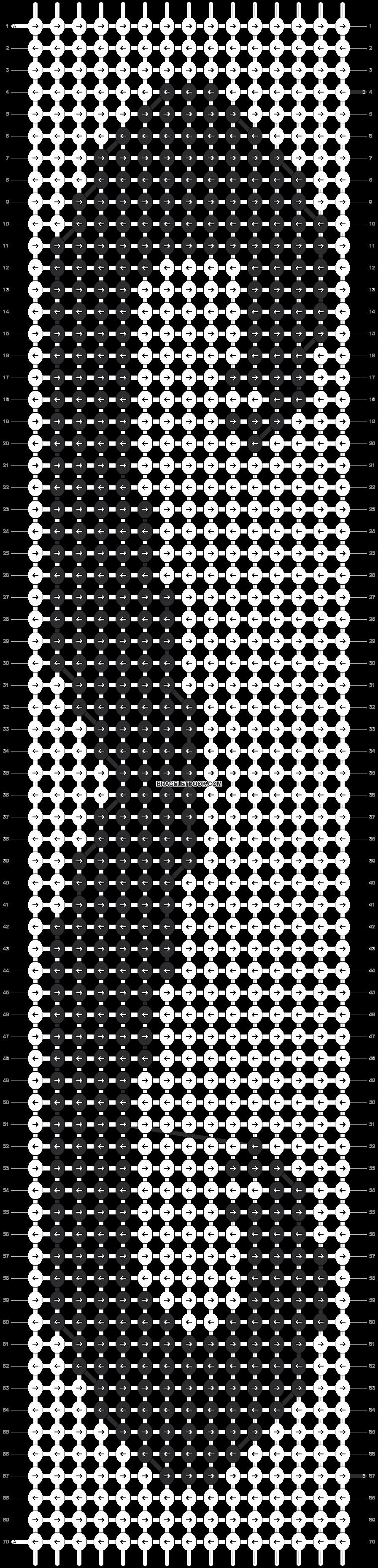 Alpha pattern #21524 pattern