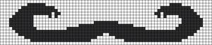 Alpha Friendship Bracelet Pattern #21524