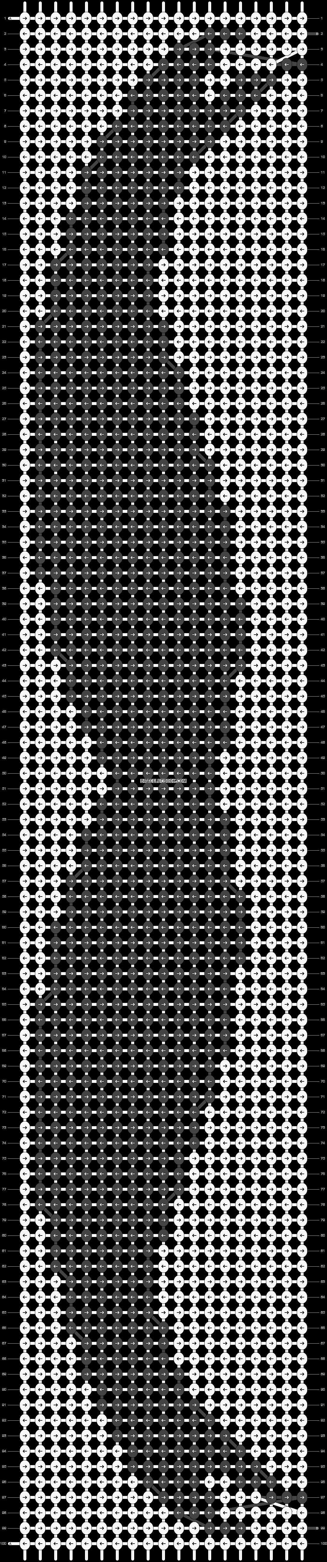 Alpha pattern #21525 pattern