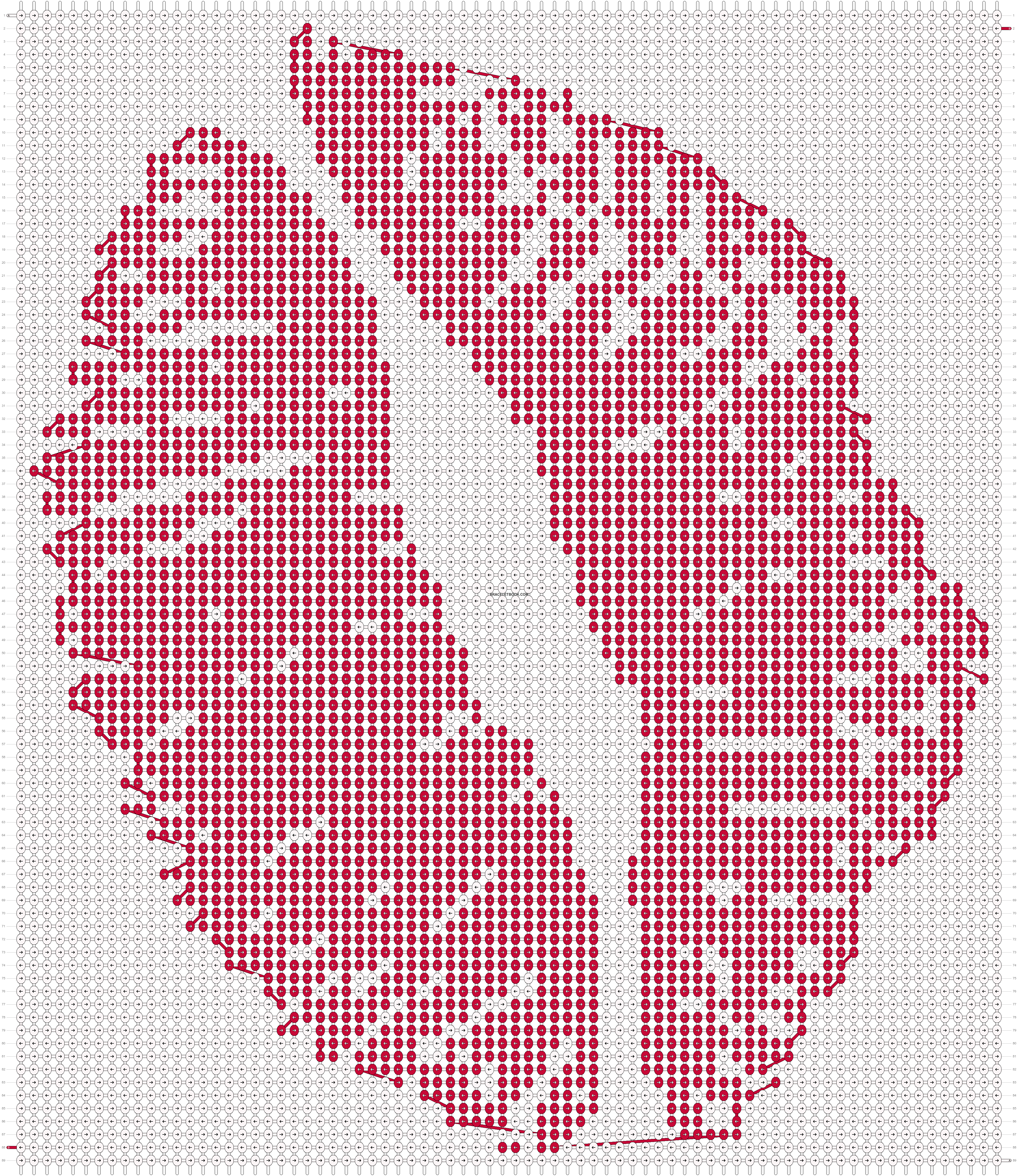 Alpha pattern #21528 pattern