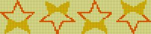 Alpha Friendship Bracelet Pattern #21529