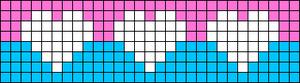 Alpha Friendship Bracelet Pattern #21535
